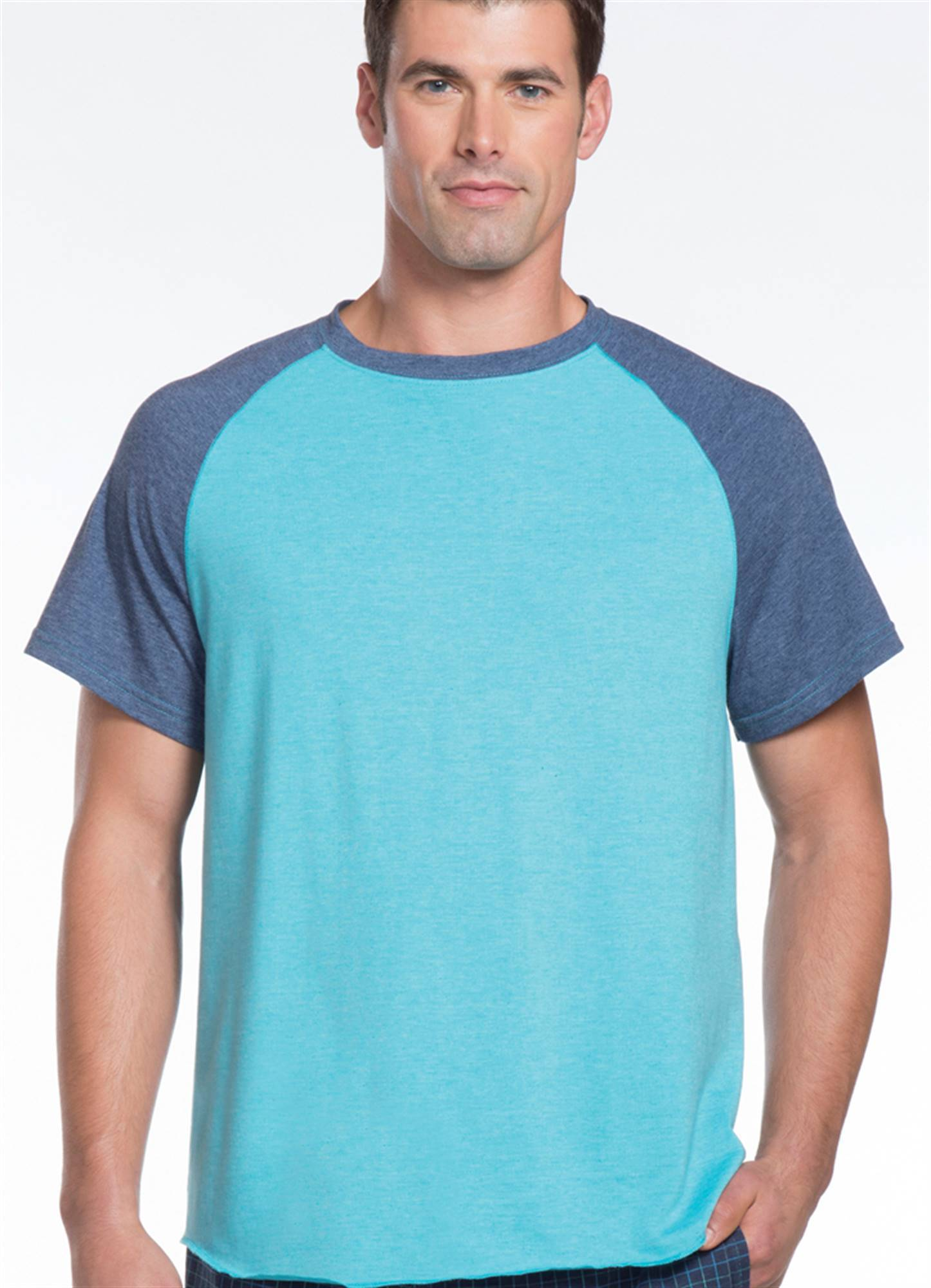 jockey mens raglan sleeve t shirt ebay